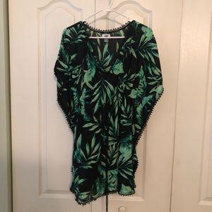 Last call! 🎉 Tropical swim coverup dress